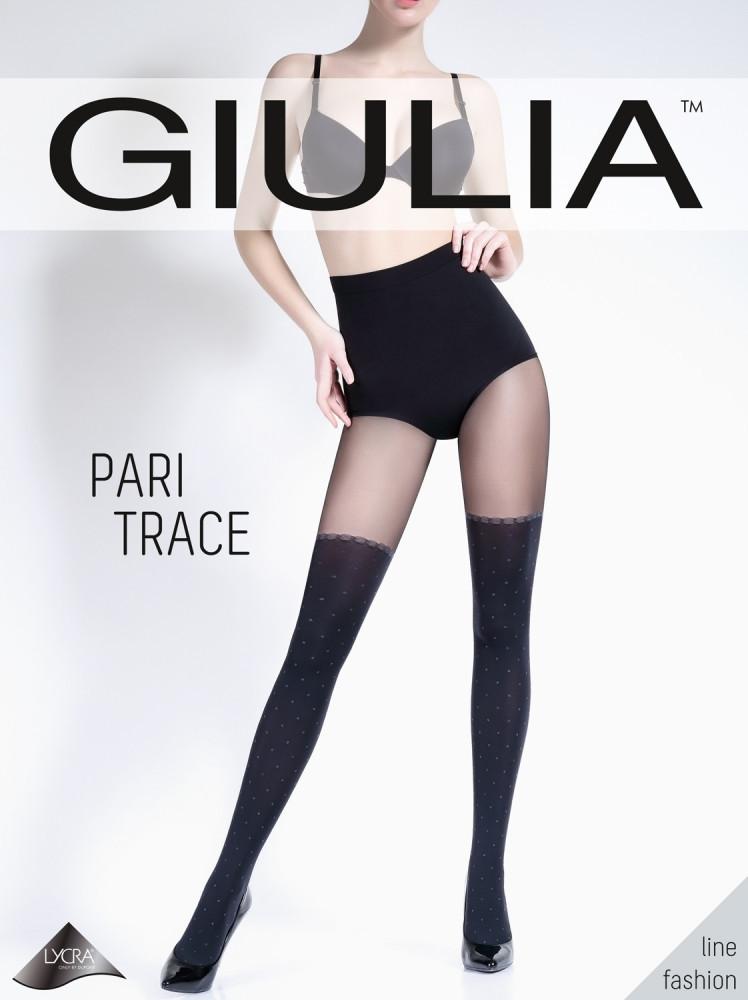 Колготки женские имитация чулков PARI TRACE 60 MODEL 2