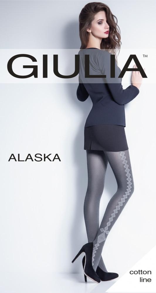 Теплые колготки с рисунком ALASKA 150 (2), разные цвета