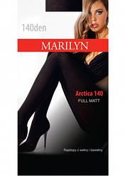 Колготки женские теплые Marilyn ARCTICA 140, р 2,3,4 3, черный