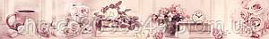 Стеклянный фартук для кухни - скинали Прованс