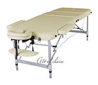 Трехсекционный алюминиевый массажный стол LEO Comfort