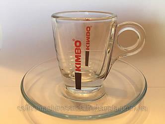 Кофейный сервиз(Kimbo Glass Espresso)