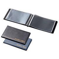 Визитница на 24 визиток Panta Plast черный 0304-0001-01
