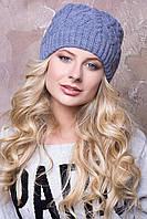 Женская вязаная шапка в 8ми цветах AC Лада