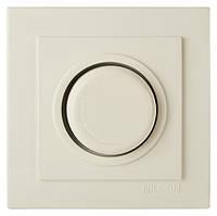 Диммер 1000W (Touran- белый) /Nilson кремовый