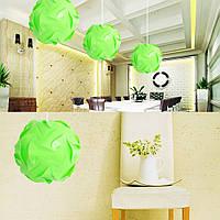 Дизайнерский светильник IQ Lamp.Абажур.Люстра.Зеленый цвет