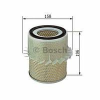 Воздушный фильтр BOSCH: MITSUBISHI  L 200 (K3_T, K2_T, K1_T, K0_T),  L 200 (K7_T, K6_T),  L 200 c бортовой платформой/ходовая часть (K3_T, K0_T,