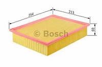 Воздушный фильтр BOSCH: AUDI  A4 (8D2, B5),  A4 Avant (8D5, B5),  A6 (4B2, C5),  A6 Avant (4B5, C5),  ALLROAD (4BH, C5);  NISSAN  LAFESTA;  SKODA