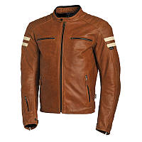 Мото куртка Segura Retro Camel коричневая, 3XL