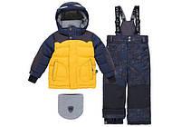 Зимний костюм на мальчика (с защитным козырьком) Deux par Deux
