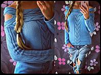 Молодежный свитер женский