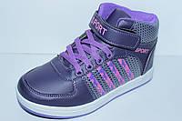 Высокие кроссовки для девочки тм МХМ Том.м, р. 33,35, фото 1