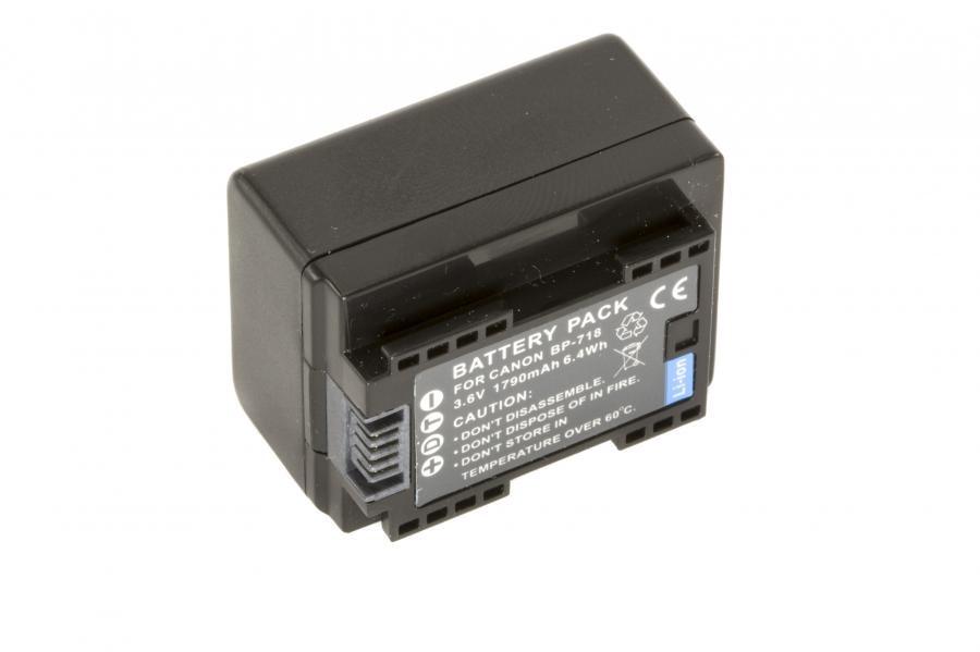Аккумулятор CANON BP-718 Гарантия 1 год