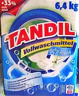 Стиральный порошок Tandil Vollwaschmittel Duftig Frisch 80 стирок 6,4 кг