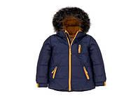 Куртка зимняя для мальчика (искусственный мех)  Deux par Deux