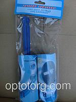 Липкий ролик+запаска  для чистки одежды 20 листов