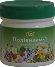 Полиэнзим-1 — 280 г — адаптогенів і антиоксидантна формула - Грін-Віза, Україна