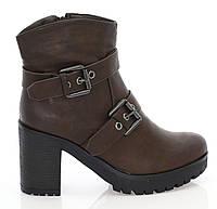 Ботинки, коричневого цвета, женские