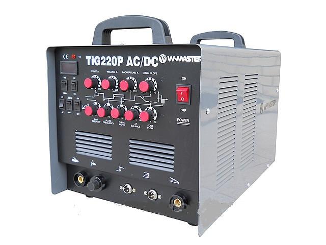 """Аргонодуговой сварочный аппарат """"W-MASTER"""" TIG-220P AC\DC (NEW)"""