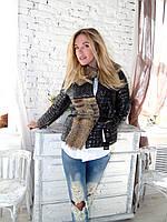 Куртка парка новинка 2016 с мехом 50 52 размер