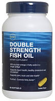 GNC Double Strength Fish Oil 90 softgels caps