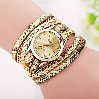 Шикарные часы-браслет.  Золотые. 8 цветов (Код 02)