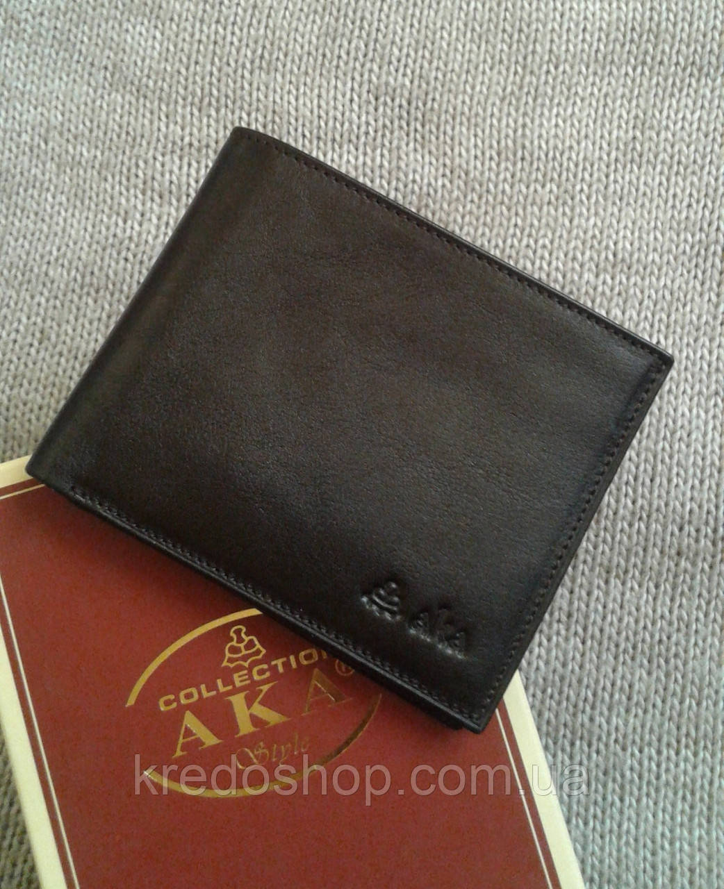 f20da9b819ff Кожаное портмоне мужское высокого качества фирмы Aka Deri : продажа ...