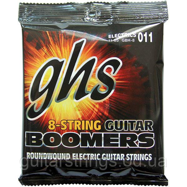 Струны GHS Boomers GBH-8 8-String Heavy 11-85