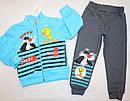 Теплый костюм на мальчика  (3-х нитка ,начес) 1,2 года, фото 3