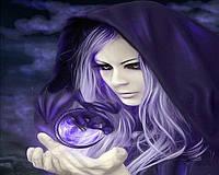 "Алмазная мозаика ""Волшебница"", картина стразами 40*30см"