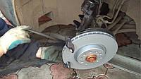 Замена передних тормозных дисков в Одессе