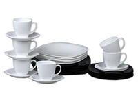 Столовый сервиз Luminarc Carine Black&White D2382,30 пр
