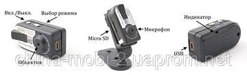 Мини камера Q5 1280x720 с датчиком звука Q5S или датчиком движения Q5M