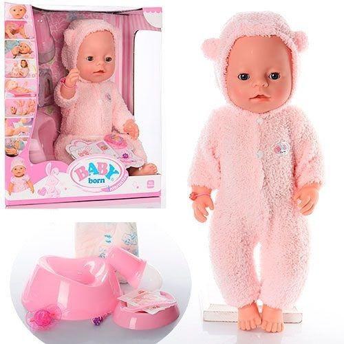 Кукла Baby Born меховая BL012A