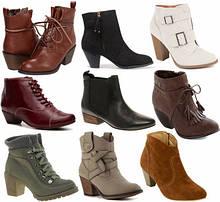 Ботинки, Ботильоны, Сапоги Демисезон Женские