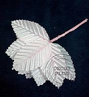 Листочки для декора 5см светло-розовые