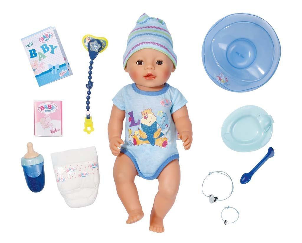 Кукла пупс Baby Born Беби Борн мальчик очаровательный малыш Zapf Creation 822012
