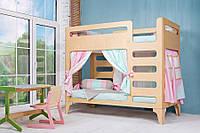 Детская кровать Indigo Wood Cubed 2-х ярусная дерево  83×164
