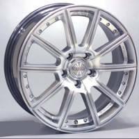 Racing Wheels H-423 (R16 W7.0 PCD4x108 ET40 DIA67.1) BK-FP
