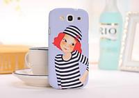 "3D чехол ""Морячка"" для Samsung Galaxy S3+пленка в подарок"
