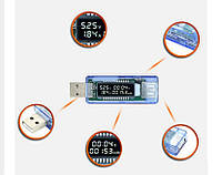 USB Тестер Keweisi kws-v20 вольтметр амперметр измеритель ёмкости аккумулятора SKU0000243