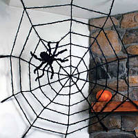 ГИГАНТСКАЯ ПАУТИНА BLACK WIDOW GIANT SPIDER WEB