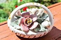 Очаровательная коллекционная корзина с цветами!, фото 1