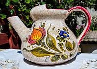Очаровательная лейка,ваза! Ручная роспись! Италия!