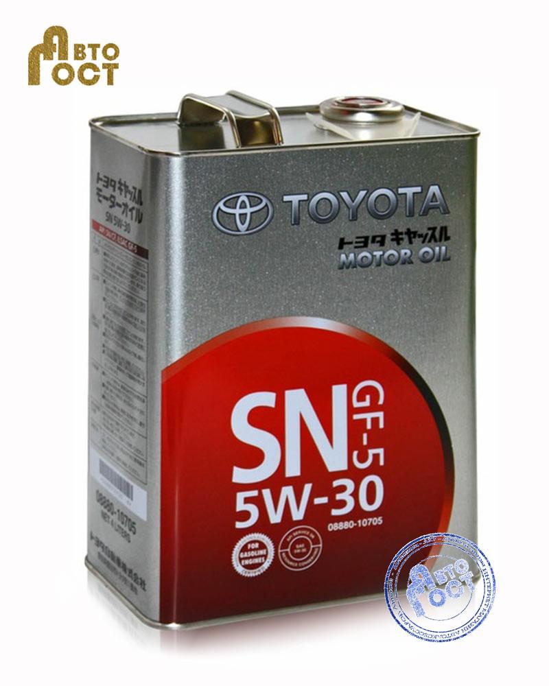 Моторное масло TOYOTA SN/GF 5W-30 (Japan) ЖБ 4л.