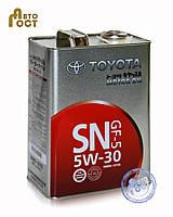Моторное масло TOYOTA SN/CF 5W-30 (Japan) ЖБ 4л.