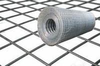 Сетка сварная металлическая штукатурная 25х12х0,7мм