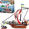 "Конструктор ""Пиратский корабль"" Sluban M38 B 0279 (226 деталей)"