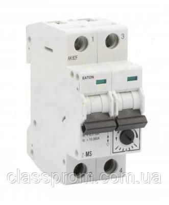 Автомат защиты двигателей 2-полюс. Z-MS-2,5/2 EATON, фото 1