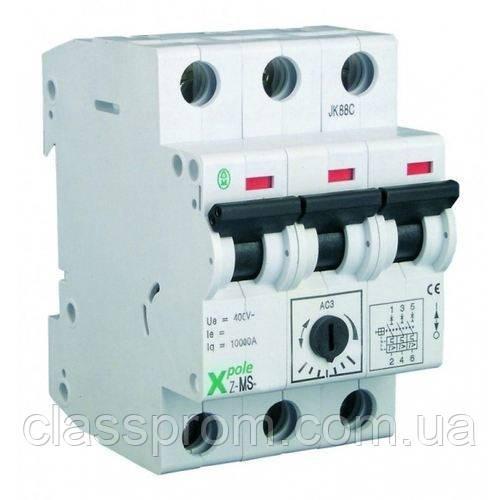 Автомат защиты двигателей 3-полюс. Z-MS-6,3/3 EATON